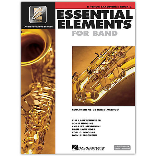 Hal Leonard Essential Elements for Band - Tenor Saxophone Book 2 With EEi