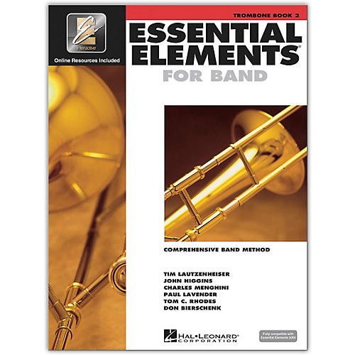 Hal Leonard Essential Elements for Band - Trombone (Book 2 with EEi)