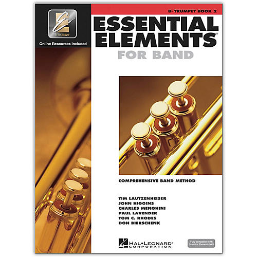 Hal Leonard Essential Elements for Band - Trumpet Book 2 With EEi