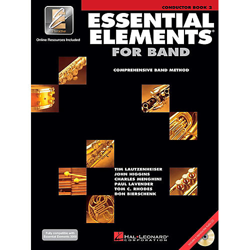 Hal Leonard Essential Elements for Band Conductor (Book 2 with CD)