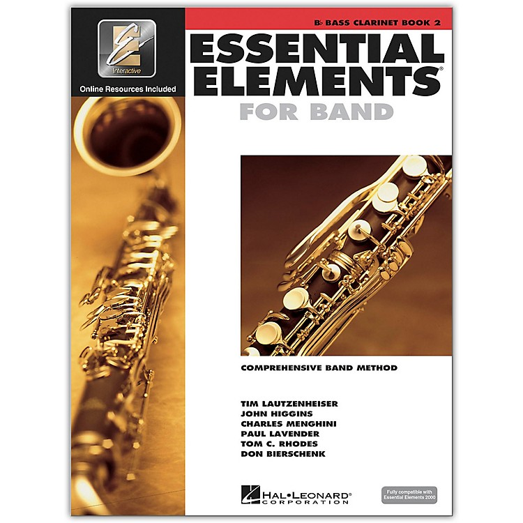 Hal Leonard Essential Elements for Bb Bass Clarinet (Book 2 with CD)