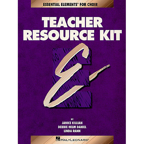 Hal Leonard Essential Elements for Choir Teacher Resource Kit (Book with CD) Composed by Janice Killian-thumbnail