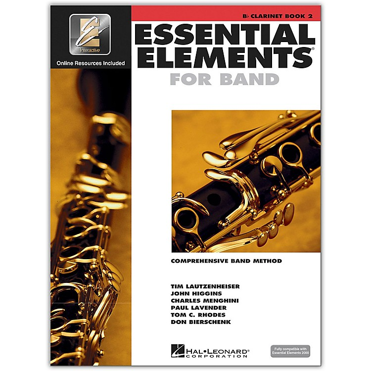 Hal Leonard Essential Elements for Clarinet (Book 2 with CD)