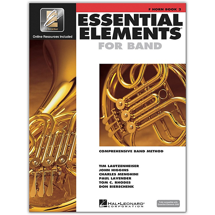 Hal Leonard Essential Elements for French Horn (Book 2 with CD)