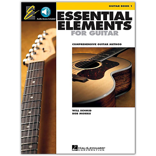 Hal Leonard Essential Elements for Guitar, Book 1 (Book and Online Audio)-thumbnail
