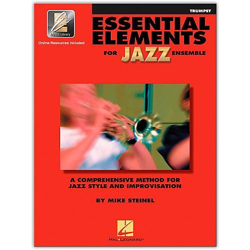 Hal Leonard Essential Elements for Jazz Ensemble - Bb Trumpet (Book/Online Audio)-thumbnail