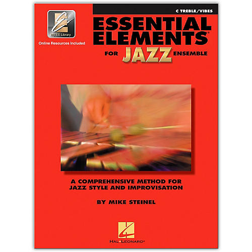 Hal Leonard Essential Elements for Jazz Ensemble - C Treble Vibes (Book with EEi)