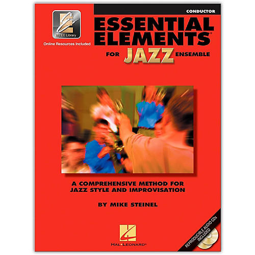 Hal Leonard Essential Elements for Jazz Ensemble - Conductor 2CD/Pkg