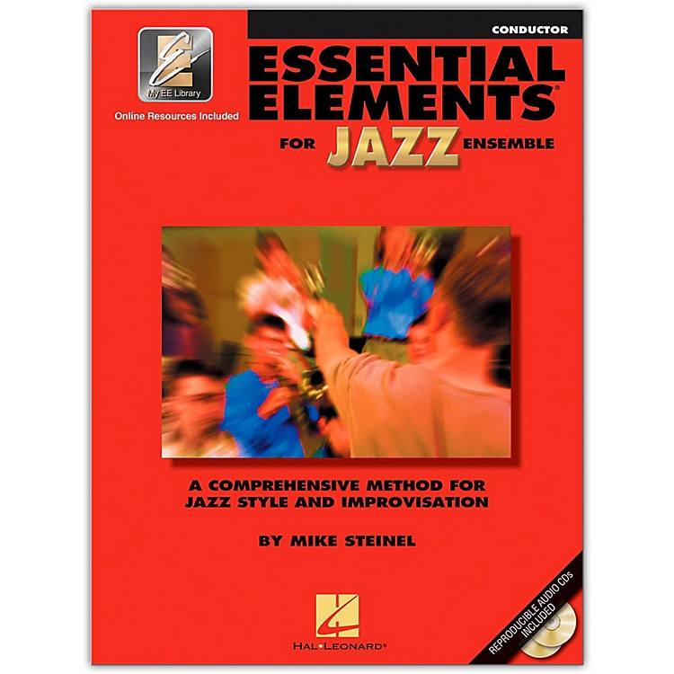 Hal Leonard Essential Elements for Jazz Ensemble - Conductor 2CD/Pkg