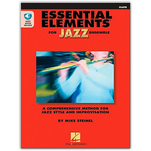 Hal Leonard Essential Elements for Jazz Ensemble - Flute (Book/Online Audio)-thumbnail