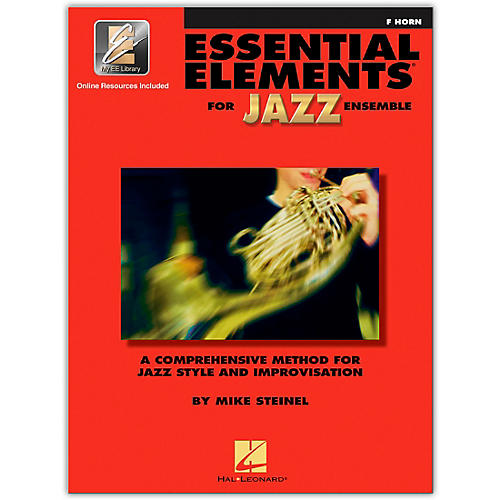 Hal Leonard Essential Elements for Jazz Ensemble - French Horn (Book/Online Audio)-thumbnail