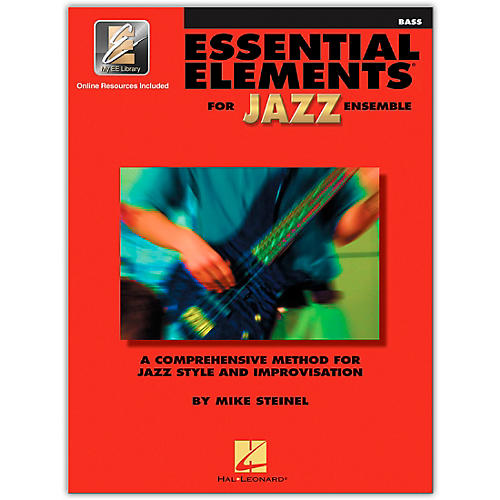 Hal Leonard Essential Elements for Jazz Ensemble Bass Book/2CDs