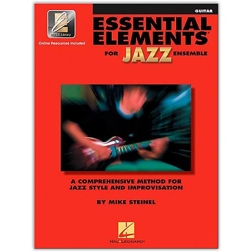 Hal Leonard Essential Elements for Jazz Ensemble Guitar Book/2CDs