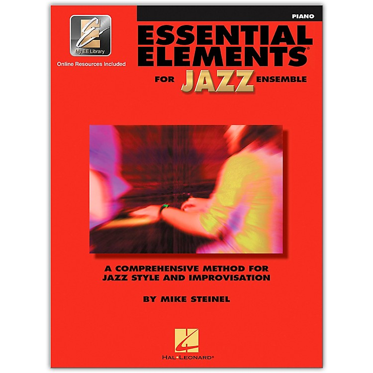 Hal Leonard Essential Elements for Jazz Ensemble Piano Book/2CD