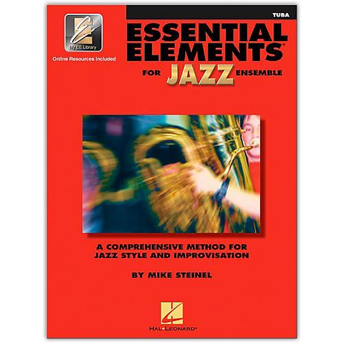 Hal Leonard Essential Elements for Jazz Ensemble Tuba 2CD/Pkg