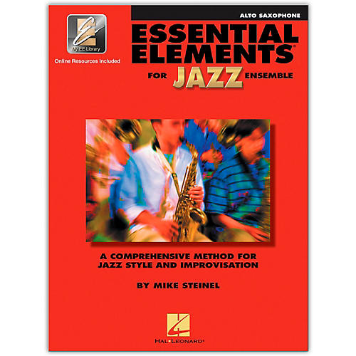 Hal Leonard Essential Elements for Jazz Ensemble for Alto Saxophone (Book with 2 CDs)