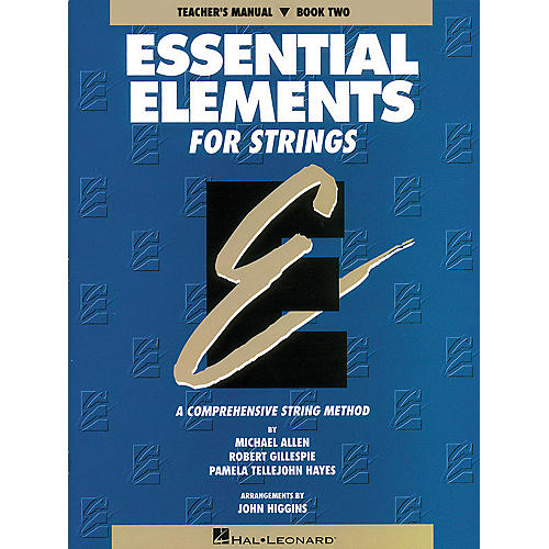 Hal Leonard Essential Elements for Strings - Book 2 (Original Series) Essential Elements Series Softcover-thumbnail