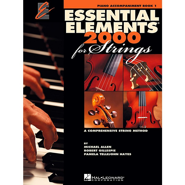 Hal Leonard Essential Elements for Strings - Piano Accompaniment, Book 1