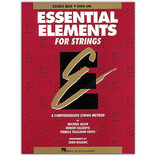 Hal Leonard Essential Elements for Strings Book 1 Bass-thumbnail