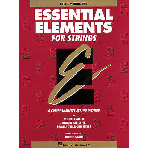 Hal Leonard Essential Elements for Strings Book 1 Cello