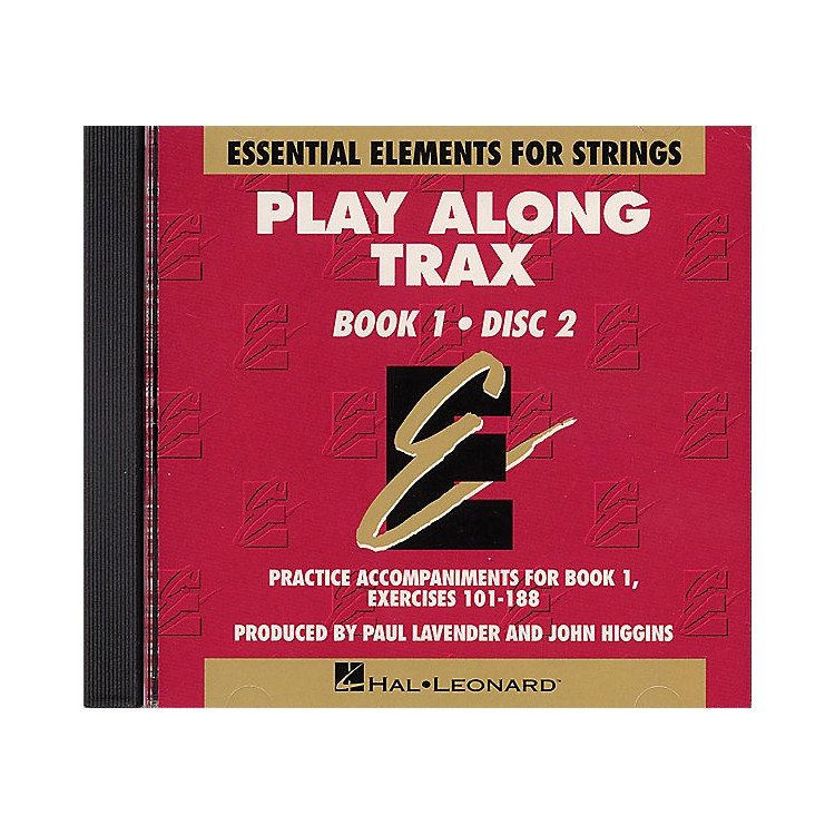 Hal Leonard Essential Elements for Strings Book 1 Play Along Trax Cd 3