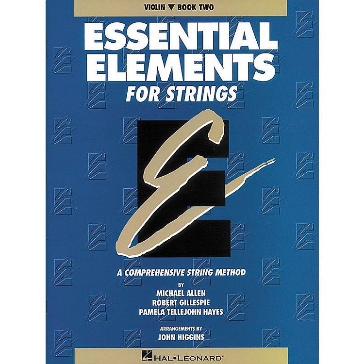 Hal LeonardEssential Elements for Strings Book 2Violin