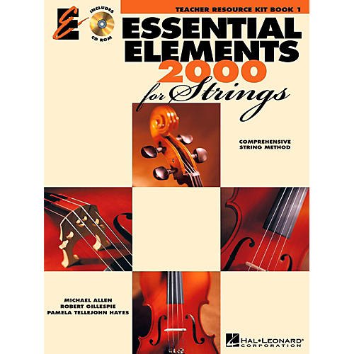 Hal Leonard Essential Elements for Strings Teacher's Resource Kit Book 1 with CD-ROM