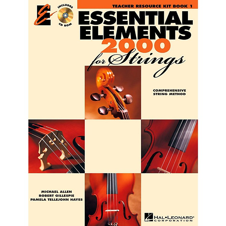 Hal LeonardEssential Elements for Strings Teacher's Resource Kit Book 1 with CD-ROM