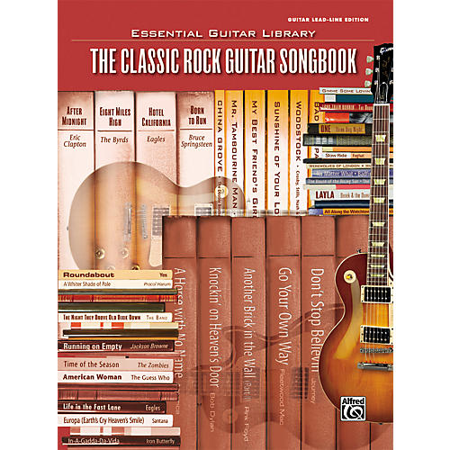 Alfred Essential Guitar Library Classic Rock Tab Songbook