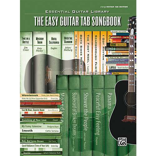 Alfred Essential Guitar Library Easy Guitar Tab Songbook