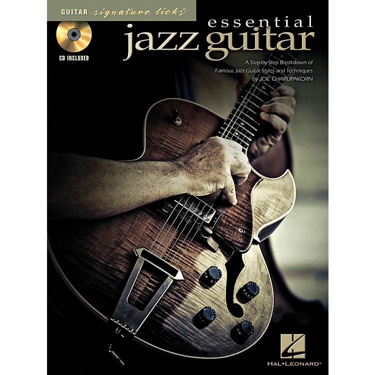 Hal Leonard Essential Jazz Guitar - Signature Licks Series (Book/CD)