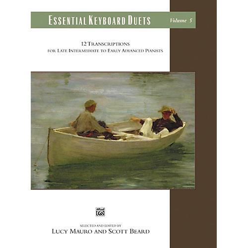 Alfred Essential Keyboard Duets, Volume 5 Late Intermediate / Early Advanced