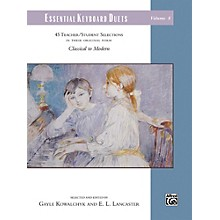 Alfred Essential Keyboard Duets, Volume 8 Comb Bound Book Elementary / Late Elementary