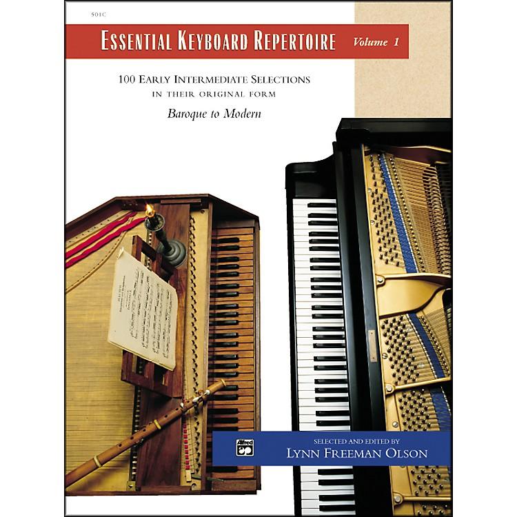AlfredEssential Keyboard Repertoire Volume 1