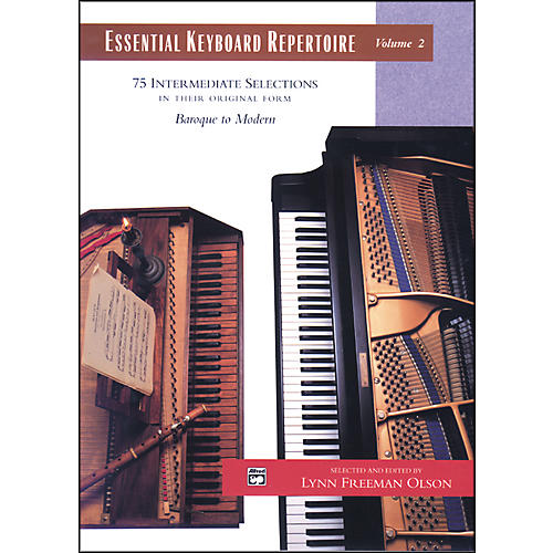 Alfred Essential Keyboard Repertoire Volume 2