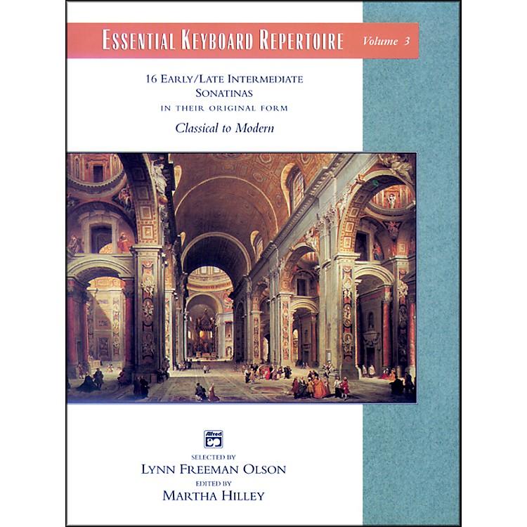 AlfredEssential Keyboard Repertoire Volume 3 (Sonatinas) Volume 3 (Sonatinas) Book