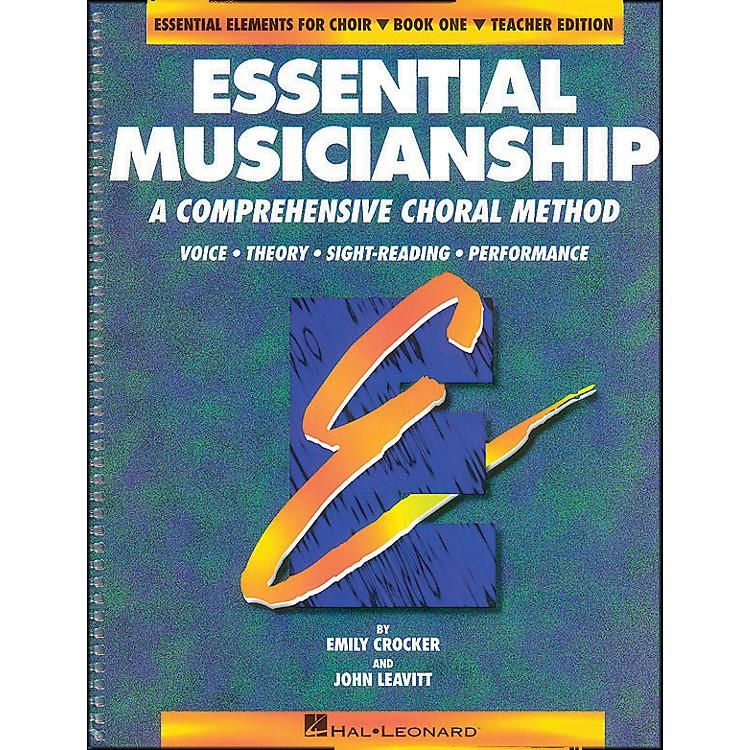 Hal LeonardEssential Musicianship Book 1 Teacher