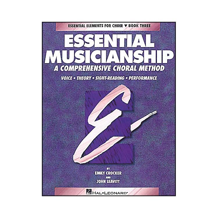 Hal LeonardEssential Musicianship Book 3 Student