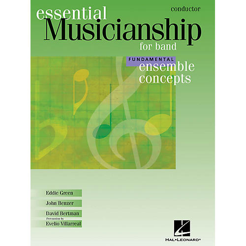 Hal Leonard Essential Musicianship for Band - Ensemble Concepts (Fundamental Level - Conductor) Concert Band-thumbnail