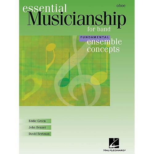 Hal Leonard Essential Musicianship for Band - Ensemble Concepts (Fundamental Level - Oboe) Concert Band-thumbnail