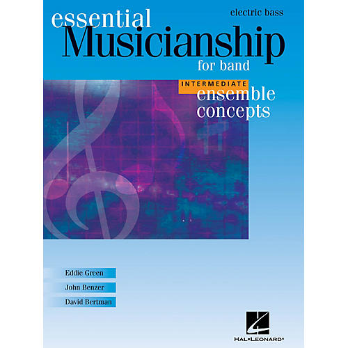 Hal Leonard Essential Musicianship for Band - Ensemble Concepts (Intermediate Level - Electric Bass) Concert Band-thumbnail
