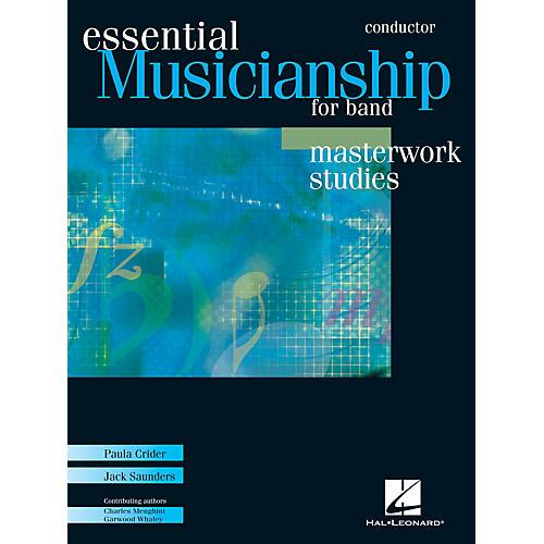 Hal Leonard Essential Musicianship for Band - Masterwork Studies (Conductor Score) Concert Band-thumbnail