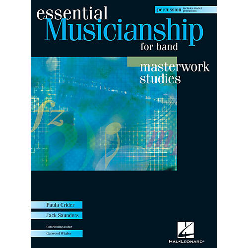 Hal Leonard Essential Musicianship for Band - Masterwork Studies (Percussion/Mallet Percussion) Concert Band-thumbnail