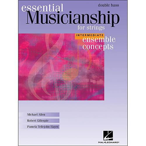 Hal Leonard Essential Musicianship for Strings - Ensemble Concepts Intermediate Double Bass-thumbnail
