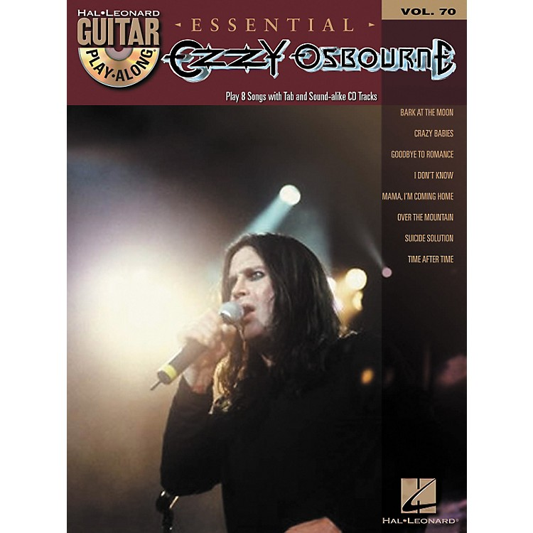 Hal Leonard Essential Ozzy Osbourne - Guitar Play-Along Volume 70 Book/CD