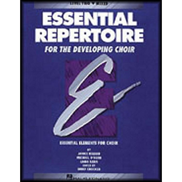 Hal Leonard Essential Repertoire for The Developing Choir Level Two (2) Mixed/Student