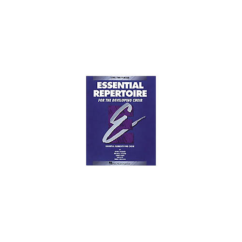 Hal Leonard Essential Repertoire for the Developing Choir Mixed Perf/Acc CDs (2) Composed by Janice Killian-thumbnail