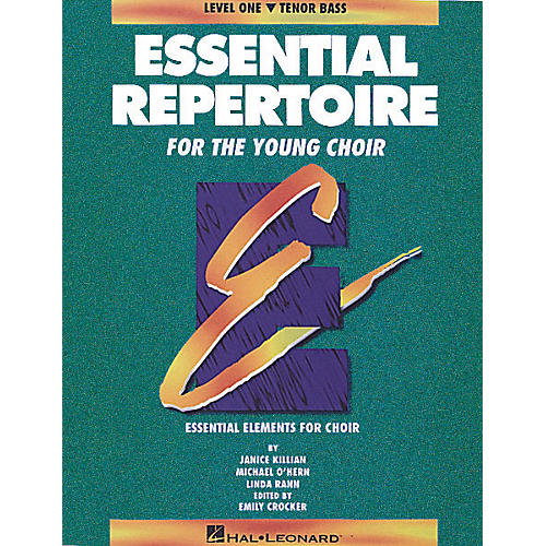 Hal Leonard Essential Repertoire for the Young Choir Tenor Bass Part-Learning CDs 3 Composed by Janice Killian-thumbnail