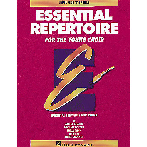 Hal Leonard Essential Repertoire for the Young Choir Treble Part-Learning CDs (2) Composed by Janice Killian-thumbnail