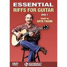 Homespun Essential Riffs for Guitar (DVD)